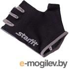 Перчатки для фитнеса Starfit SU-127 (L, черный/серый)