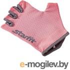 Перчатки для фитнеса Starfit SU-127 (M, розовый/серый)