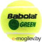 Набор теннисных мячей Babolat Green Bag / 512005 (72шт, желтый/зеленый)