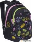 Рюкзак Grizzly RD-951-2 (черные жуки)
