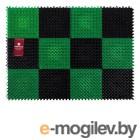 Коврик придверный, 42х56 см, Травка, черно-зеленый, VORTEX (ВОРТЕКС)