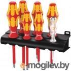Набор отверток WERA WE-006147  + индикатор наличия напряжения + подставка 7 предметов