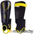 Щитки футбольные Jogel JA-207 (M, черный/желтый)