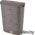 Корзина для белья Curver Ribbon 00746-T37-00 / 221814 (серый)