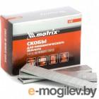 MATRIX Скобы 18GA для пнев, степлера 5000 шт 57657