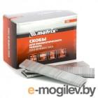 MATRIX Скобы 18GA для пнев, степлера 5000 шт 57661