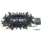 Гирлянда электрическая VEGAS 55057 Нить, 100 разноцветных ламп, 10м (в уп. 50 шт)