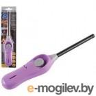Пьезозажигалка ECOS GL-001V, фиолетовая