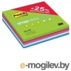 Блок самоклеящийся бумажный 3M Post-it Optima Лето Плюс 7100091468 76x76мм 125лист. 5цв.в упак.