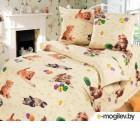 Комплект в кроватку АртПостель Усатый-полосатый 130