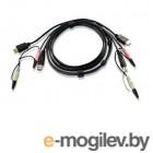 Кабель для переключателей ATEN Custom USB 2.0 HDMI KVM Cable L:1.8m*2L-7D02UH
