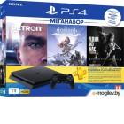 Игровая приставка Sony Playstation 4 Slim 1Tb [PS719926108] +3 игры