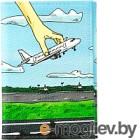 Обложка на паспорт Vokladki Самолет / 20006