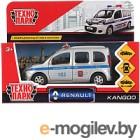 Автомобиль игрушечный Технопарк Renault Kangoo. Полиция / KANGOO-P