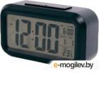 Часы настольные электронные Сигнал EC-137B черные