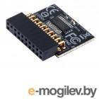 Материнские платы GIGABYTE GC-TPM2.0, TPM header key, LPC bus, (for Intel 200/100/8/9/99 series, AMD AM4, FM2 series) OEM