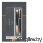 Набор Parker Urban Core FK200 (2093381) Muted Black GT ручка перьевая, ручка шариковая подар.кор.