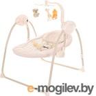 Качели для новорожденных Pituso Marbella Beige / TY-008 (бежевый/круги)