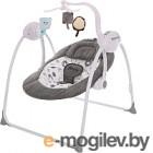 Качели для новорожденных Pituso Marbella Gray / TY-008 (серый/круги)