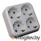 MAKEL 10001205 Разветвитель-квадрат 4 гнезда с заземлением