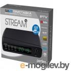 Perfeo DVB-T2/C приставка STREAM для цифр.TV, Wi-Fi, IPTV, HDMI, 2 USB, DolbyDigital, пульт ДУ