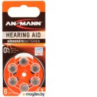 Батарейки Ansmann Zinc-Air 13 UK BL6 5013243