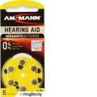 Батарейки Ansmann Zinc-Air 10 UK BL6 5013223