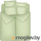 комплект постельного белья Vegas SemKR160.200-7J (Нежная оливка)