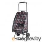 Тележка с сумкой Рыжий кот D203ECO Brown, 30 кг