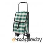 Тележка с сумкой Рыжий кот D203 Green, 25кг