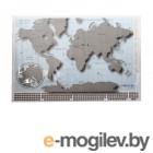 Скретч-карта Мира Глобусный Мир 20230