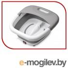 8116-2 Массажная ванночка для ног FIRST, 450 Вт, Глубина: 15.5 см.Прорезиненные ножки. Белый-Серый