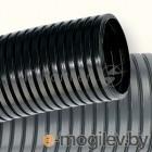 Труба гофрированная ПА d17мм с протяж. черн. (уп.50м) ДКС PA611721F2