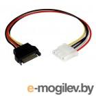 PCI-E (Riser) / SATA / eSATA / IDE / MOLEX Переходник питания Orient C575 SATA 15-pin(M) to Molex 4-pin(F) 30575