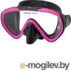 Маска для плавания IST Sports Scope / P111-BS/P (черный/розовый)