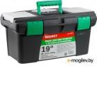 Ящик для инструмента пластмасс. 49x27,5x24 см (19) с лотком и органайз. 20237 ВОЛАТ