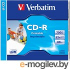 Jewel CD-R 80min 700Mb 52x DL+ Printable 43325