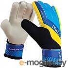 Перчатки вратарские Mitre Magnetite JNR / G70009BCY (р-р 6, белый/голубой/желтый)
