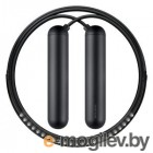 Умная скакалка Smart Rope, подключается к смартфону при помощи Bluetooth. Размер S, 243 см. (на рост 152 - 163 см). Цвет хром.