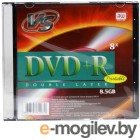 VS DVD+R 8.5Gb 8х Slim Double layer printable
