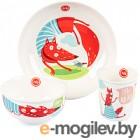 Набор детской посуды Happy Baby Fox / 15055