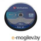 VERBATIM Blu-Ray BD-R 6x 25GB 10 Шт Cake box  43742