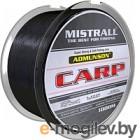 Леска плетеная Mistrall Admunson Carp Black 0.25мм 1000м / ZM-3350025