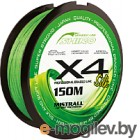Леска плетеная Mistrall Shiro Bl Green 0.19мм 150м / ZM-3420019