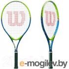 Теннисная ракетка Wilson Slam 25 для 7-8 лет / WRT20400U (салатовый/синий)