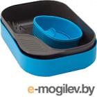 Набор пластиковой посуды Wildo CAMP-A-BOX Light / W202633 (голубой)