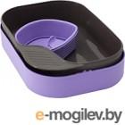 Набор пластиковой посуды Wildo CAMP-A-BOX Basic / W30263 (фиолетовый)