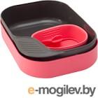 Набор пластиковой посуды Wildo CAMP-A-BOX Basic / W30269 (розовый)