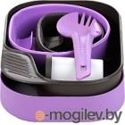 Набор пластиковой посуды Wildo CAMP-A-BOX Complete / W10266 (лиловый)