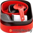 Набор пластиковой посуды Wildo CAMP-A-BOX Complete / W10268 (красный)
